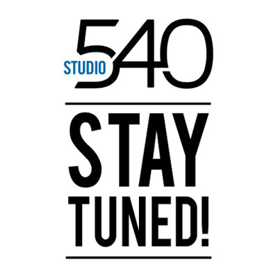 Upcoming Studio 540 Seminar